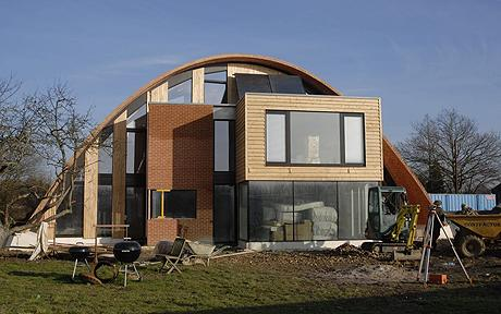 Wood is good for Eco efficient homes