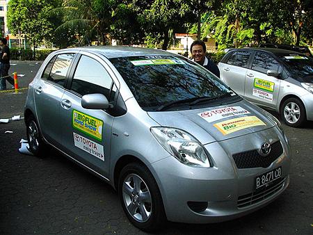 biofuelled car