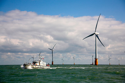 Wind turbine and boat